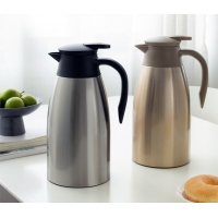 Quality 2000ml BSCI Stainless Steel Vacuum Insulated Teapot wholesale
