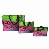 Quality PP Non-woven Shopping Bag, Customized Designs are Accepted wholesale