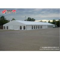 Quality Beautiful Garden Wedding Tent With Glass Double Wing Glass Door Long Life Span wholesale