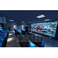 Quality Cinema House 4D Movie Theater Electronic System Simulation Rides 50 People wholesale