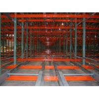 Cheap Warehouse steel rack push back pallet racking for sale