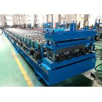 Buy cheap Galvanized Steel CNC Roll Forming Machine Composite Floor Decking Sheet Use from wholesalers