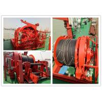 Quality Ship Boat Marine Windlass Winch For Mooring Lifting Winch With Lebus Groove Drum wholesale
