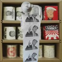 Quality trump toilet paper 3 layer 200 sheets 100% wood virgin pulp printed  toilet paper supplier wholesale