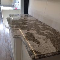 Cheap Natural Quartz stone Marble bathroom Vanity Tops For Hospitality Remodeling for sale