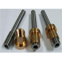 Quality Metal CNC Thread Cutting for Nuts / Screw with Chrome Plating / Zinc plating wholesale