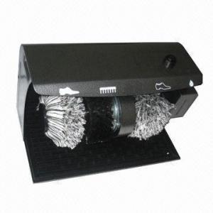 Quality Electric Shoe Polishing Machine with Shoe Wax Dispenser wholesale
