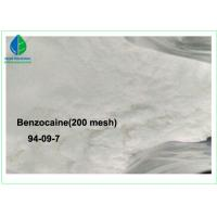 Quality 99% Purity Local Anesthesia Drugs Benzocaine With 20 - 50 Mesh / 200 Mesh wholesale