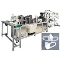 China High Productivity Disposable Mask Making Machine With Automatic Shutdown Alarm on sale