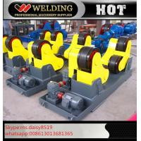 Quality Automatic Vessel Welding Pipe Welding Rotator With PU Rubber Roller 15000kg wholesale