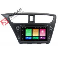 Quality Full RCA Output Android Car DVD Player Honda Civic Touch Screen Head Unit Support Apps wholesale