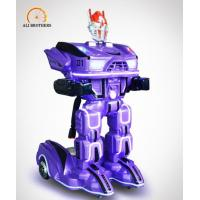 Quality Shopping Mall Kids Carnival Rides , Electric Robot Kids Ride On Toys wholesale