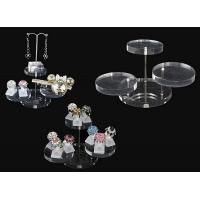 Quality Acrylic magazine display , clear round acrylic accessories display wholesale
