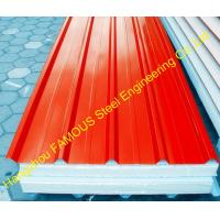 Quality Heat Insulation EPS Polyurethane Foam Sandwich Panels For House wholesale