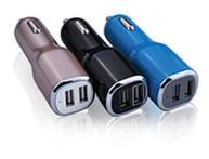 Quality Two Port USB Cigarette Car Charger Rechargeable With Indicator Light wholesale