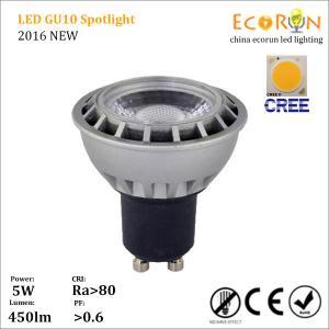 Quality 5w 7w cob gu10 mr16 gu5.3 most powerful led spotlight 220v lamps indoor wholesale