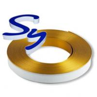 Quality Acrylic Channel Letters Aluminium Trim Cap With PC And Foam Strip wholesale