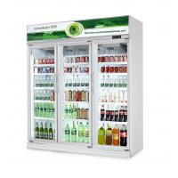 Quality Commercial Fresh Vegetable Upright Beverage Cooler Air Cooling R134a wholesale