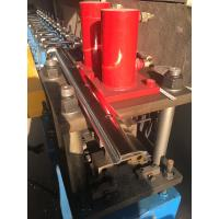 Buy cheap 12 Mpa Adjustable Cold Roll Forming Machine Manual Feeding With 3 Groups Solenoid Valve product