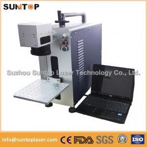 Quality Bearing portable fiber laser marking machine small size desktop model wholesale