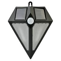 Cheap Stylish Bright Solar Powered Security Light With Motion Sensor for sale