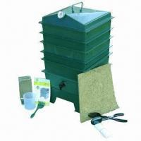 China Worm Grower (Worm Raiser/Bin), Made of Recycled HDPE Plastics on sale