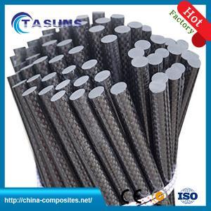 China Carbon Fiber Pole, Round Solid carbon fiber rod, 3k carbon fiber rods, on sale