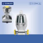 Forging Body Sanitary Diaphragm Valve , Mini type diaphragm actuator valve 1/4 Clamp Ends