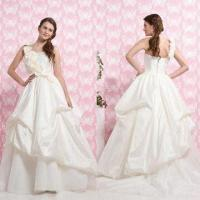 Quality Strapless Bustled Gown, Available in Floor Length, ODM Orders are Welcome wholesale