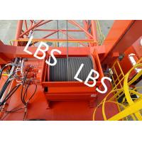 Quality General - Purpose Spooling Device Winch With Lebus Groove / Bridge / Overhead Crane wholesale