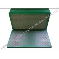 Quality Higher Conductance Shake Screen , Mud Cleaner SS 304 Shale Shaker Mesh Screen wholesale