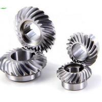 Quality sprial bevel gears for transmission gearbox High Quality Ball Mill Pinion Gear made in China wholesale