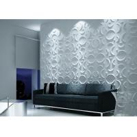 Cheap Colored Vinyl 3D Decorative Wall Panels for sale