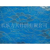 Quality M5002 Silver thread eye style lace fabric wholesale