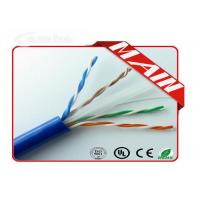 Ethernet Patch Cable UL Listed Bulk 23AWG , Pure Copper Pull Box UTP Cat6 Network Cable