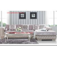 Cheap Luxury Fabric Sofa set in 1+2+3 seat  used Rubber wood frame and Plywood with High density sponge infilled for sale
