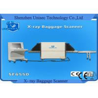 Quality High Resolution Airport Metro Hotal X-Ray Baggage Scanner SF6550 wholesale