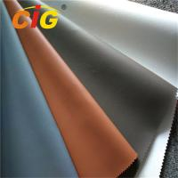 Quality Waterproof  PVC Synthetic Leather , Upholstery PVC Leather 0.6mm - 1.2mm Thickness wholesale