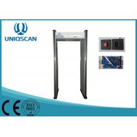 Quality 100 Sensitivity Level Multi Zone Metal Detector Body Scanner With 5 Digital LED Count wholesale