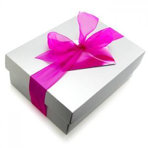 China Cute cardboard gift box with handle on sale