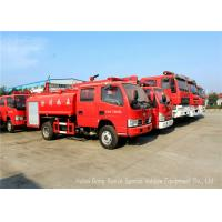 Quality Water Tanker Fire Fighting Truck For Fire Service With Water Pump And Fire Pump wholesale