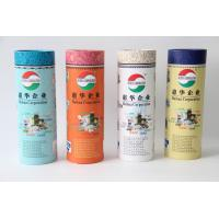Quality Cylinder Cardboard Paper Cans Packaging with Custom Logo Printing wholesale