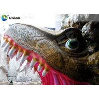 Quality Amusement Park  Dinosaur Cabin Movie Theater Equipments With 4 Seats wholesale
