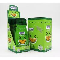 Quality 16g Sugar free mint candy / Green Orange Flavor with Vitamin C / portable sachat package wholesale