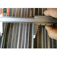 reinforcement Galvanized Wire Lath 0.3mm Thick Rib Lath Sheet for sale