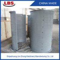 Quality Double Grooved Lebus Sleeve For Multilayer Spooling , 10-50mm Rope Dia wholesale