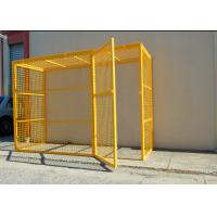 Professional Compressed Gas Cylinder Storage Cages With CE / ISO9001 Certificate