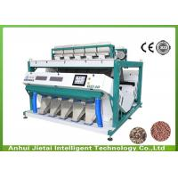 Quality 20 Ton Per Hour 640 Channels Wheat Sorting Machine With 330mm Width Chute wholesale