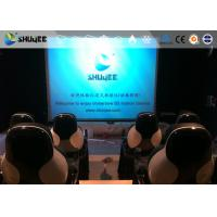 Quality Installing 5D Cinema Equipment With Thrilling And Exciting Roller Coaster Movie wholesale
