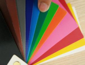 Quality Fire Resistant 1100GSM Matte PVC Laminated Tarpaulin Material wholesale